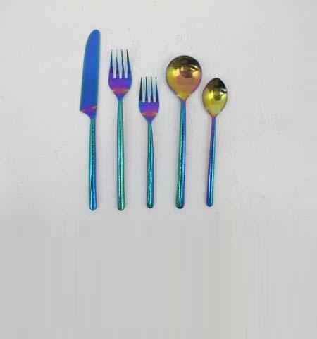 Uv Finish Cutlery Set
